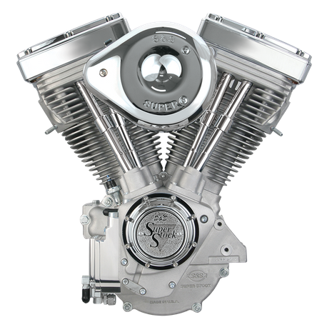 V80 Complete Assembled Engine - Natural