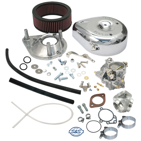 Super G Carburetor Kit for 1957-'78 HD<sup>®</sup> Ironhead Sportster<sup>®</sup> Models (not equipped with vertical magnetos)