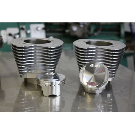 "4"" Sidewinder Big Bore Kit for 2007-'17 HD<sup>®</sup> Big Twin Models - Silver"