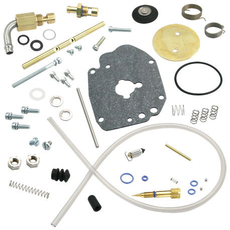 Super E Carburetor Master Rebuild Kit, Regular Gas Inlet