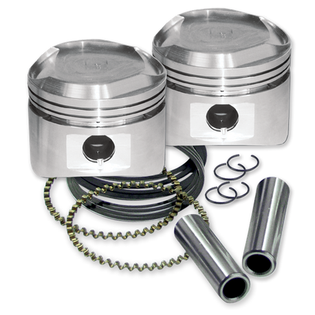 "80"" Pistons for 1984-'99 HD<sup>®</sup> Big Twins W/ Super Stock Heads - Standard"