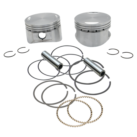 "Forged 3 5/8"" Bore Piston Kits for 1984-'99 HD<sup>®</sup> Big Twin 103"" Stock Style Heads"