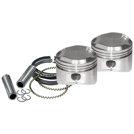 "89"" High Compression Stroker Pistons For 1984-'99 HD<sup>®</sup> Big Twins And 1986-'03 HD<sup>®</sup> Sportster<sup>®</sup> Models W/ Super Stock Heads - Standard"