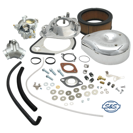 TÜV Approved Super E Carburetor Kit for 1986-90 HD<sup>®</sup> Sportster<sup>®</sup> 883 Models