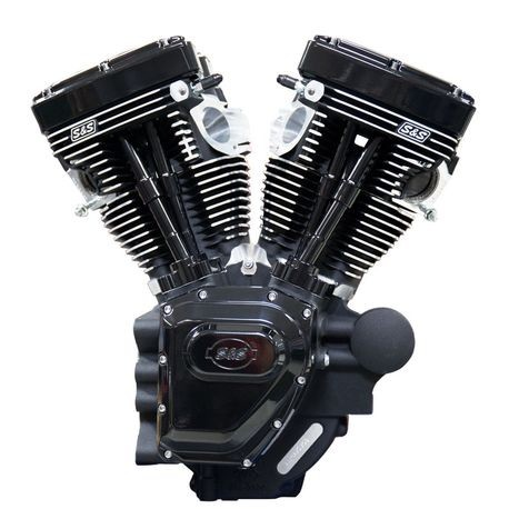 T111 Black Edition Longblock Engine for Select 2007-'16 HD® Twin Cam 96®, 103®,110® Models - 585 GPE Cams