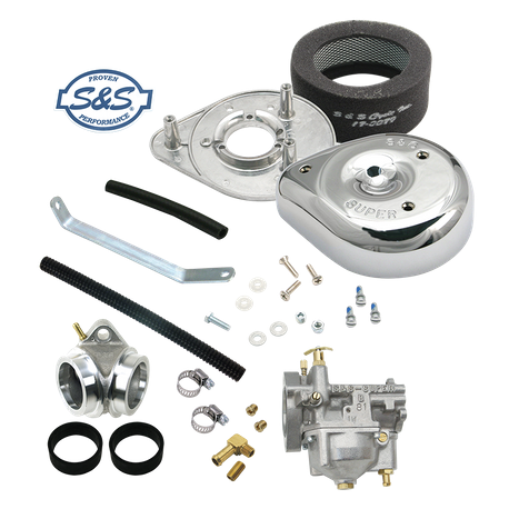 Super B Carburetor Kit for 1979-'85 HD<sup>®</sup> Ironhead Sportster<sup>®</sup> Models