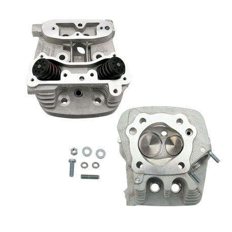"S&S<sup>®</sup> Super Stock<sup>®</sup> Cylinder Head Kit For 3-1/2"" and 3-5/8"" Bore 1994-'02 Buell Models - Natural Aluminum Finish"