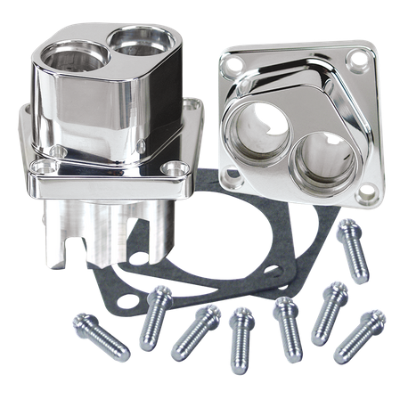 Billet Tappet Guide Set For 1984-'99 S&S<sup>®</sup> V-Series and Special Application Crankcases