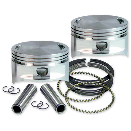 "S&S<sup>®</sup> 4"" Bore Forged Pistons for V113"""