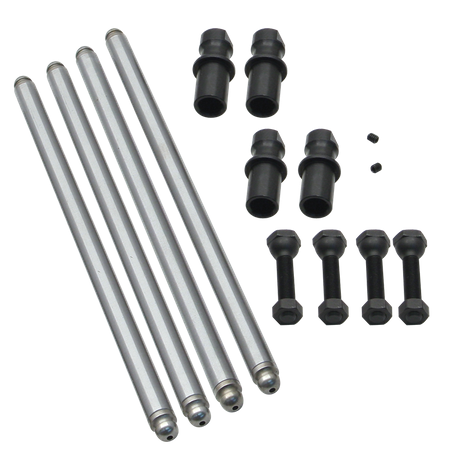 S&S<sup>®</sup> Non-Adjustable Pushrod Kits For 1966-'84 HD<sup>®</sup> Big Twin With Adjustable Lifter Adapters