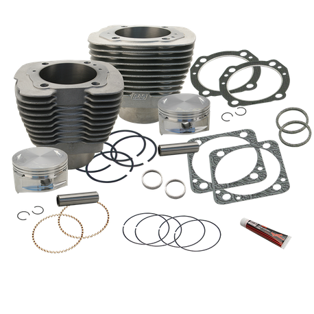 "4"" Bore Cylinders & Piston Kit for 100"" V-Series Engines - Natural"