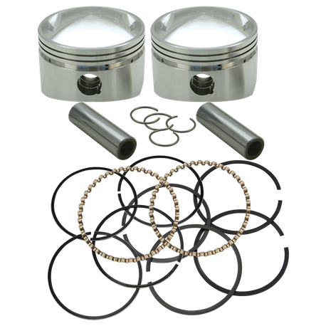 "S&S<sup>®</sup> Forged 3 5/8"" Bore Piston Sets For 1936-'84 HD<sup>®</sup> OHV Big Twins"