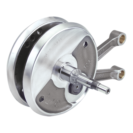 "S&S<sup>®</sup> 4"" Stroke Flywheel Assembly For S&S<sup>®</sup> SB100 Engines For 1986–'03 Harley-Davidson<sup>®</sup> Sportster<sup>®</sup> and 1994–'02 Buell<sup>®</sup> Models"