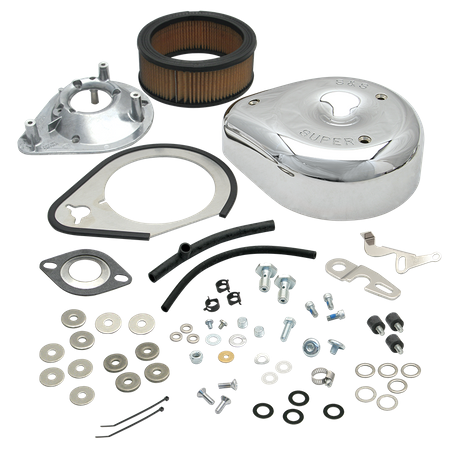 Replacement Air Cleaner Kit For S&S<sup>®</sup> TÜV Super E Carburetor Kits For 2004-'06 HD<sup>®</sup> Sportster<sup>®</sup> Models