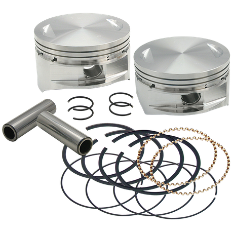 "S&S<sup>®</sup> 4"" Bore Forged Pistons for V100"" and V107"""