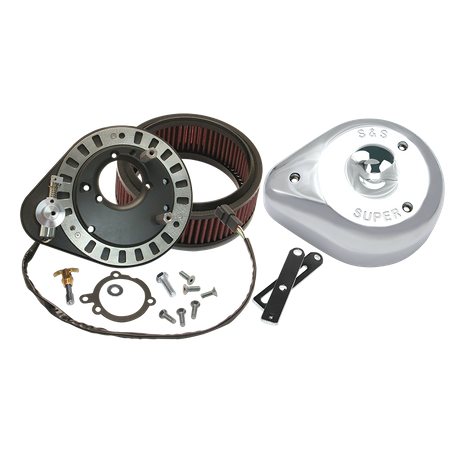 Replacement Sealed Air Cleaner Kit For S&S<sup>®</sup> 50-State Emissions Compliant V96, V100, and V113 Engines