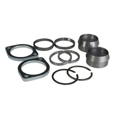 "Exhaust Adaptor Kit, S&S B2 heads to exisiting 2"" header"