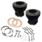 "3-5/8"" Bore Cylinder Set for 1966-'84 Big Twins W/ S&S 93"" HC Sidewinder Kit and S&S SH93H Engines - Gloss Black"