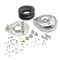 S&S<sup>®</sup> Teardrop Air Cleaner Kit For S&S<sup>®</sup> Super B Carburetors For 1984-'92 HD<sup>®</sup> Big Twins and 1986-'90 Sportster<sup>®</sup> Models.