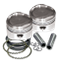 "89"" Low Compression Stroker Pistons For 1984-'99 HD<sup>®</sup> Big Twins W/ Super Stock Heads - Standard"