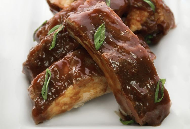 Fully Cooked Baby Back Ribs in Sauce