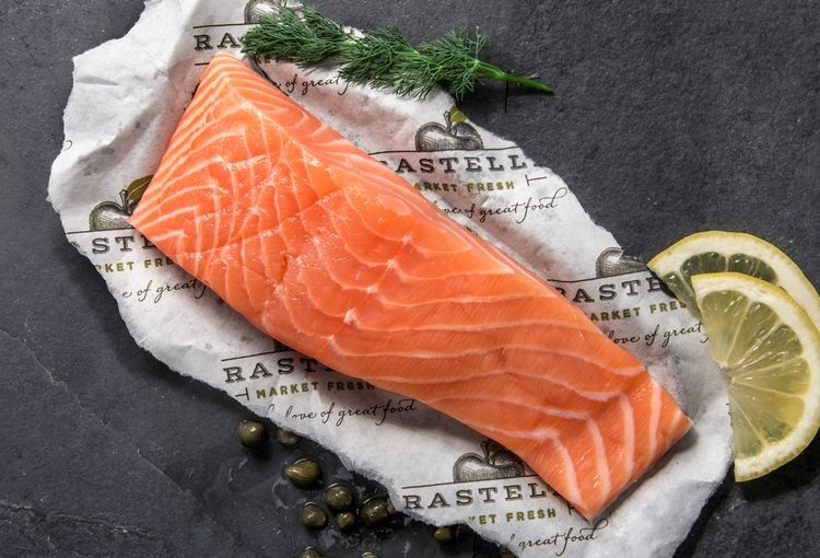 Faroe Islands Salmon w/ Your Choice of Herb Butter