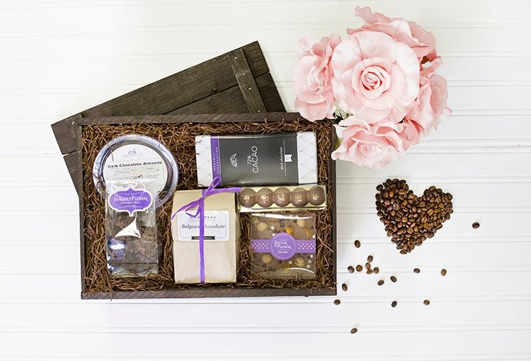 Chocolate Lover Gift Crate
